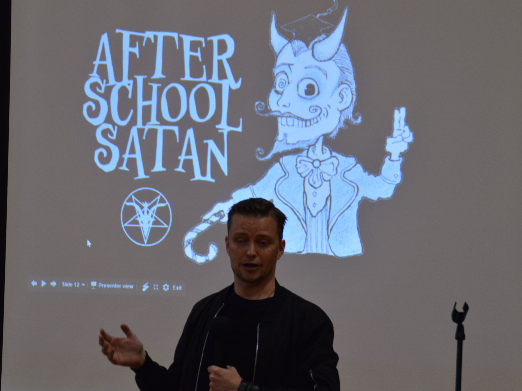Good News Clubs and After School Satan: KCAC Hosts Lucien Greaves