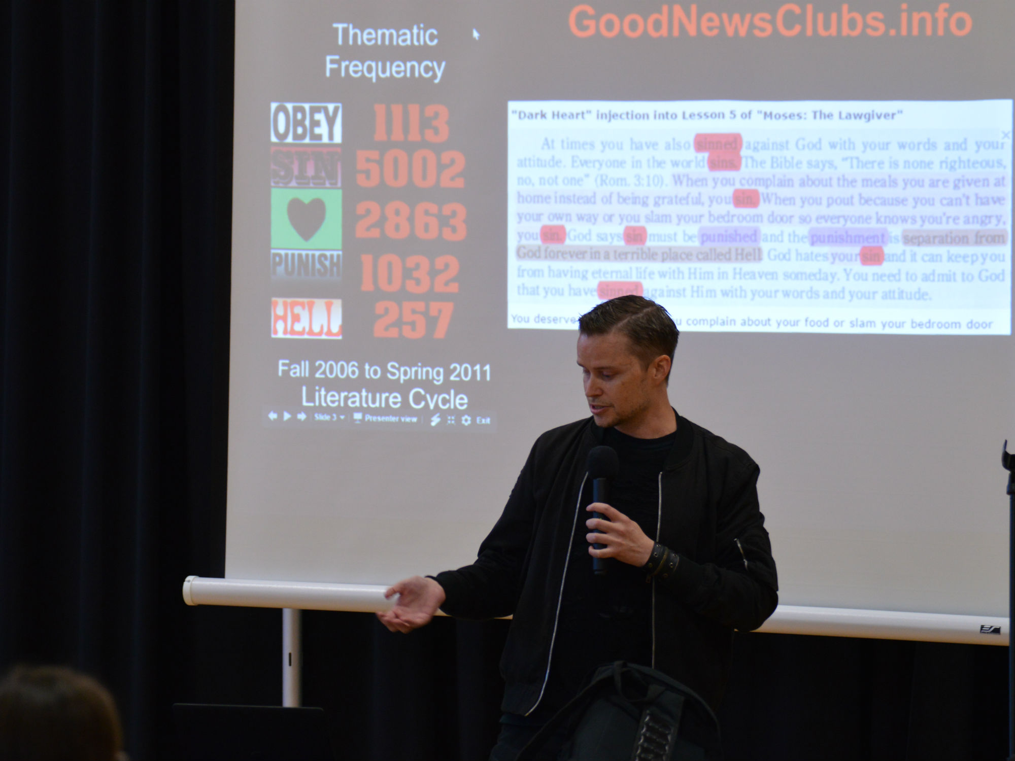 Good News Clubs and After School Satan: KCAC Hosts Lucien